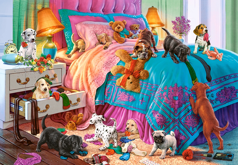 castorland-naughty-puppies-1000-teile-puzzle-castorland-104475