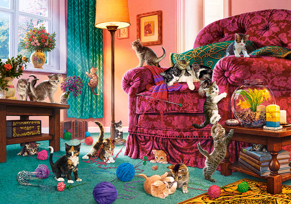 castorland-naughty-kittens-500-teile-puzzle-castorland-53254