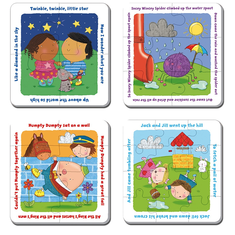 gibsons-puzzle-progressiv-nursery-rhymes-4-teile-puzzle-gibsons-g1003