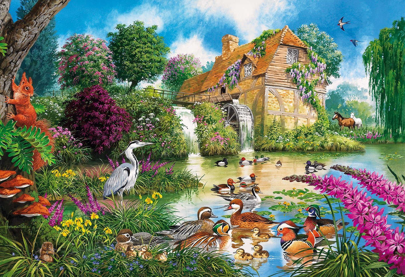 John Francis - The Old Watermill