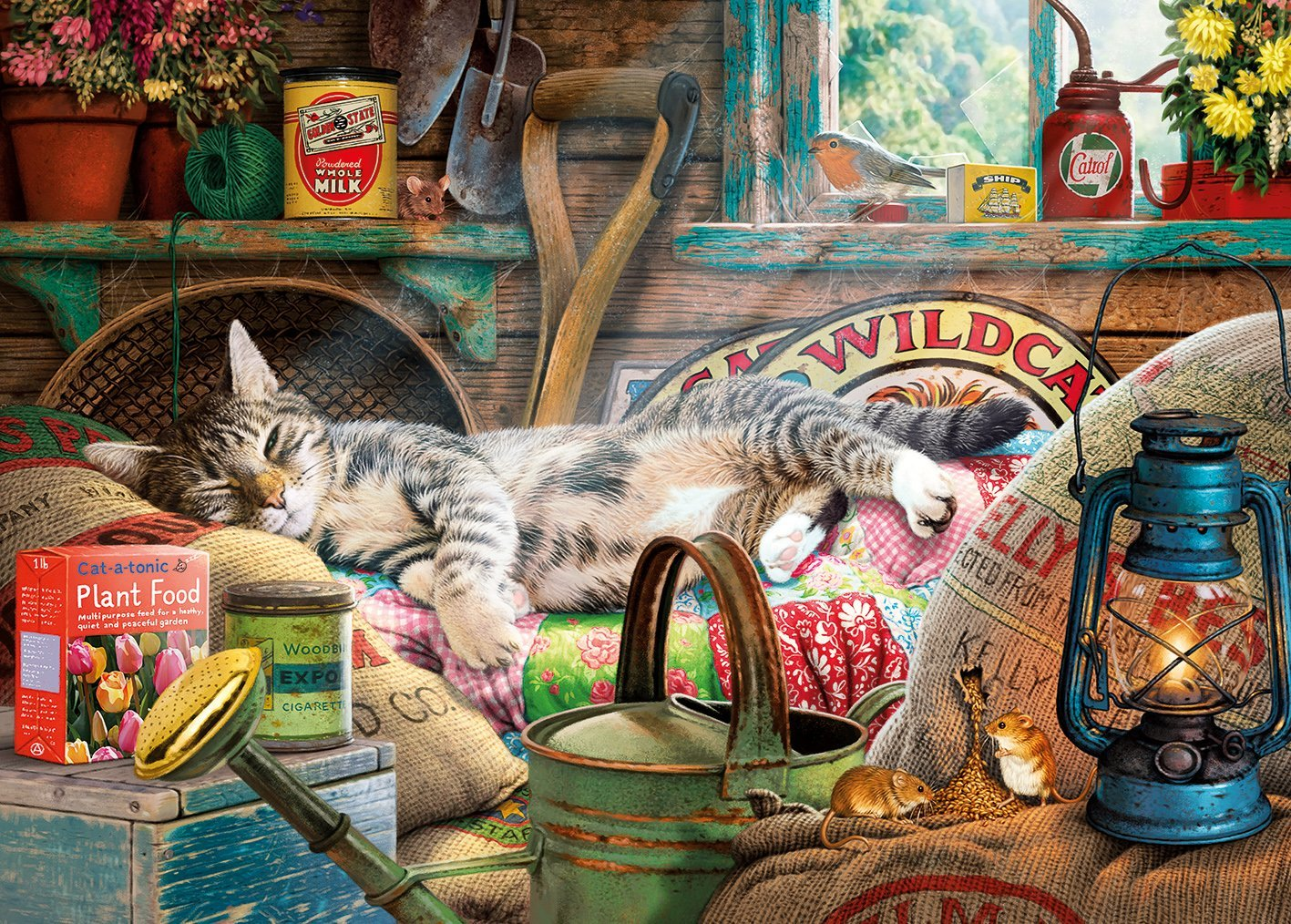 gibsons-snoozing-in-the-shed-1000-teile-puzzle-gibsons-g6248