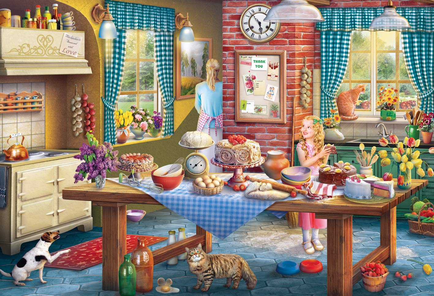 gibsons-eduard-sneaking-a-slice-500-teile-puzzle-gibsons-g3116, 10.95 EUR @ puzzle-de