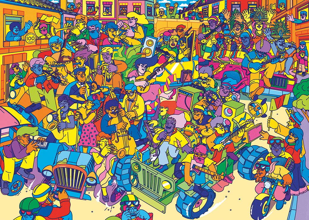gibsons-karneval-1000-teile-puzzle-gibsons-g7205