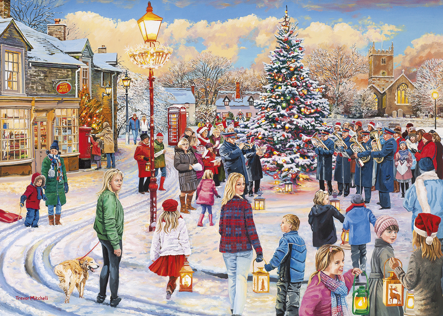 gibsons-christmas-chorus-1000-teile-puzzle-gibsons-g6275
