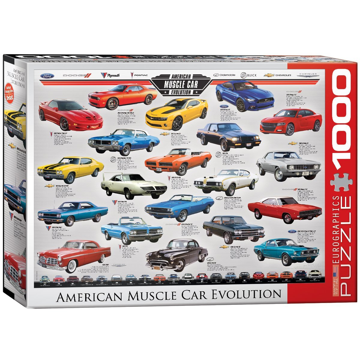 eurographics-muscle-car-evolution-1000-teile-puzzle-eurographics-6000-0682