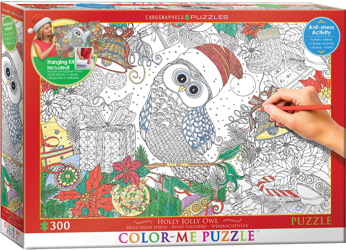 eurographics-xxl-color-me-weihnachtseule-300-teile-puzzle-eurographics-6033-0885