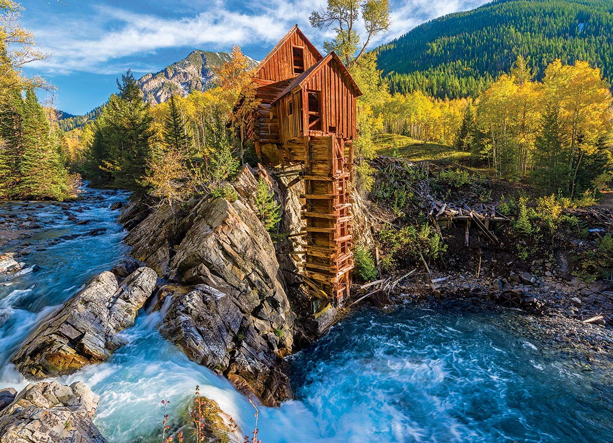 Puzzle 1000 Teile - Crystal Mill