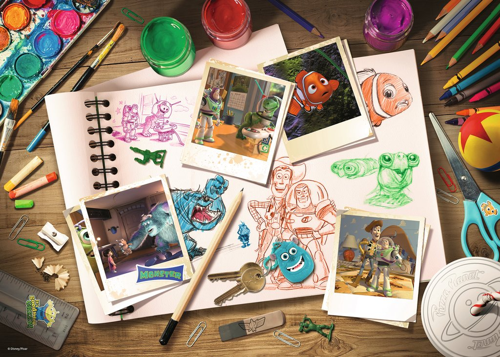 Disney Pixar: Sketches