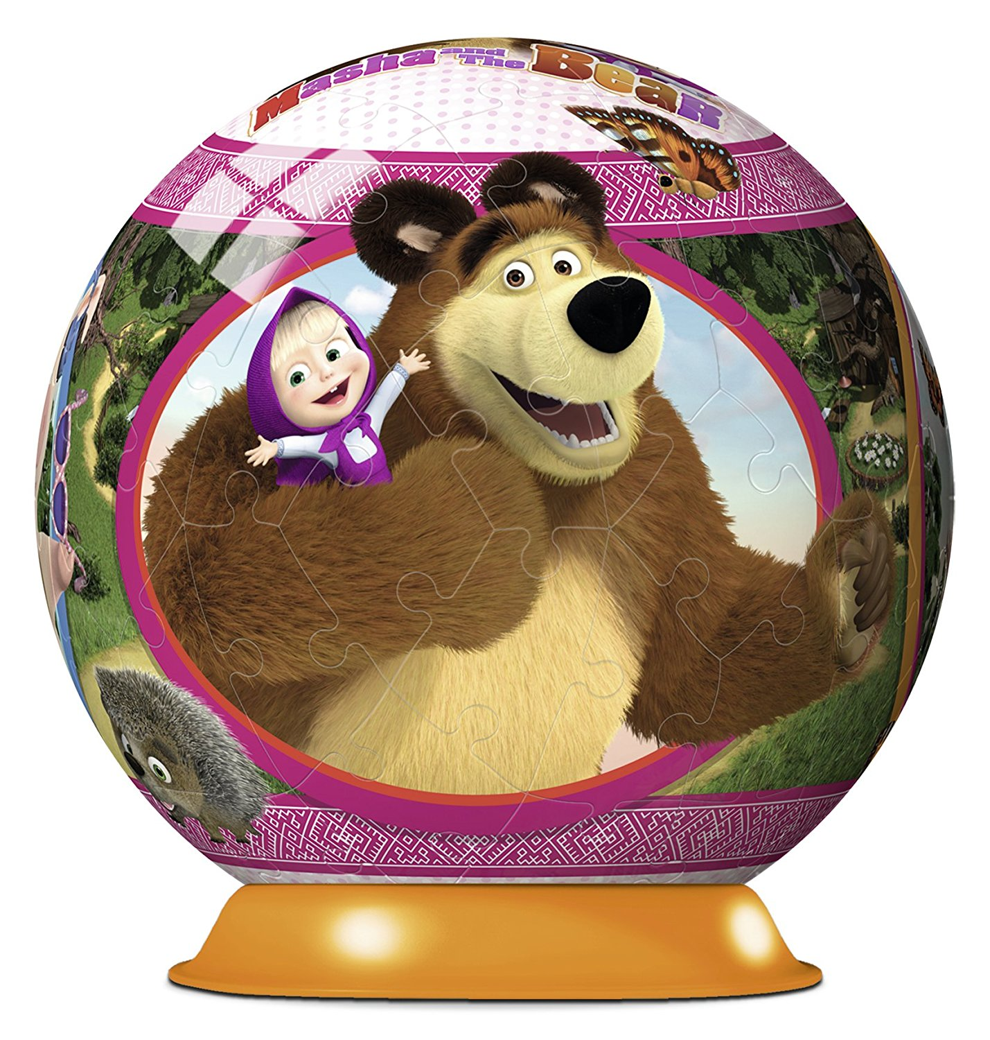 3D Puzzle - Masha and the Bear