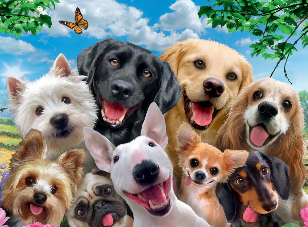ravensburger-xxl-teile-delighted-dogs-300-teile-puzzle-ravensburger-13228