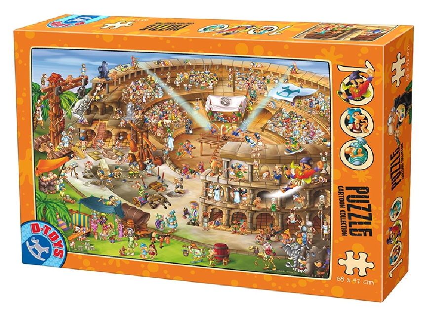 dtoys-cartoon-collection-kolliseum-1000-teile-puzzle-dtoys-74676