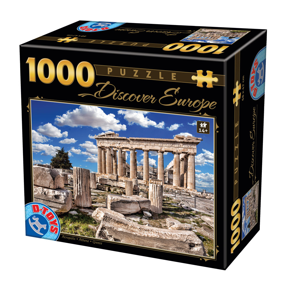 dtoys-discover-europe-akropolis-1000-teile-puzzle-dtoys-74867