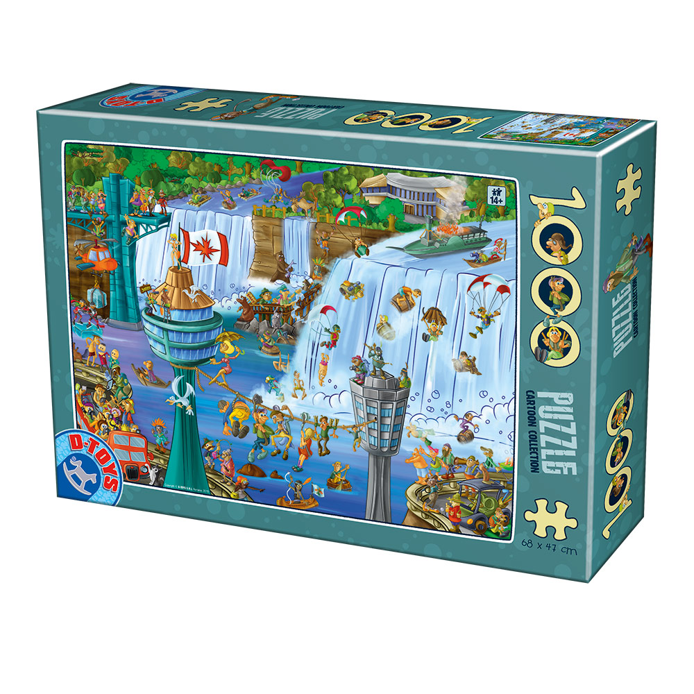 dtoys-cartoon-collection-niagara-falls-1000-teile-puzzle-dtoys-75932