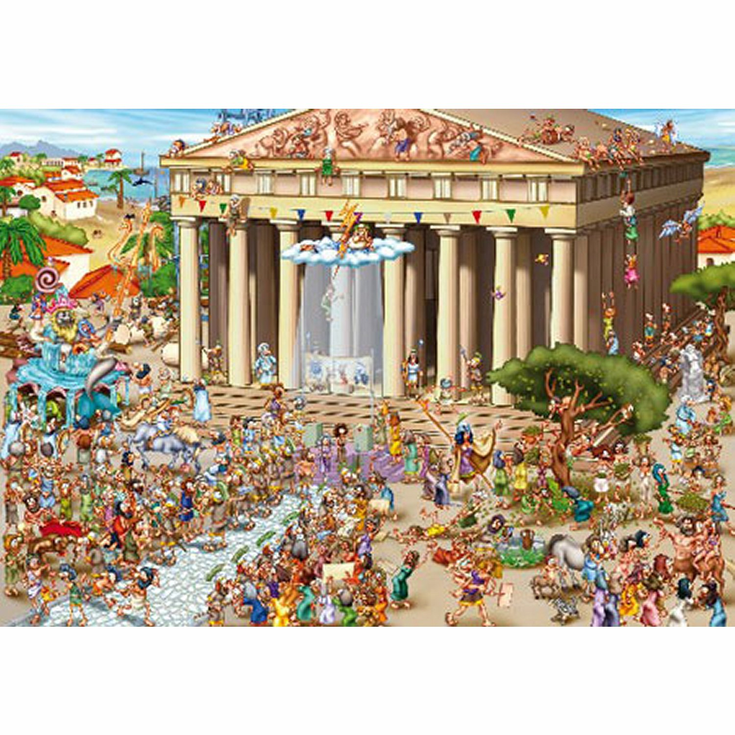 dtoys-cartoon-collection-akropolis-griechenland-1000-teile-puzzle-dtoys-70883