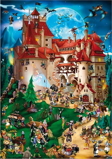 dtoys-cartoon-collection-vampir-party-1000-teile-puzzle-dtoys-70852