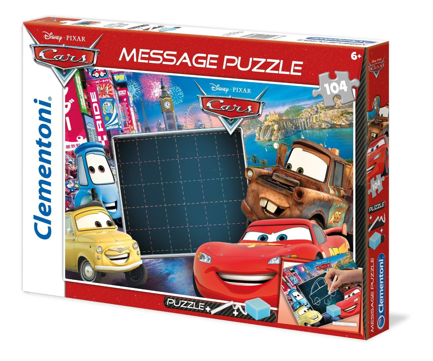 Message Puzzle Cars