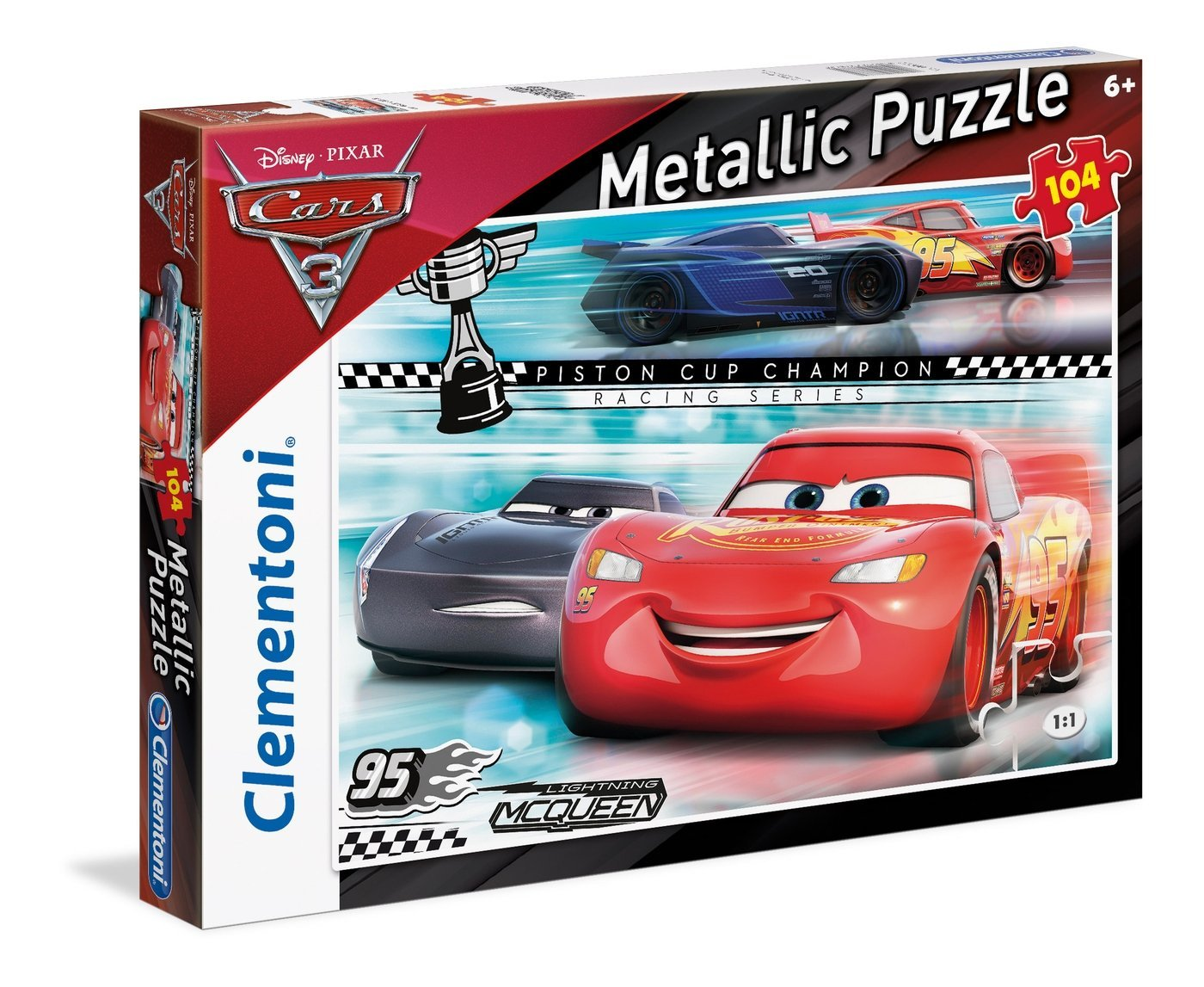 Metallic Puzzle - Cars 3