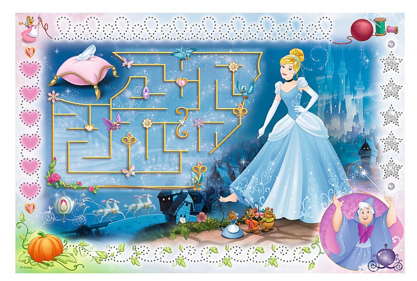 trefl-disney-princess-puzzle-magic-marker-54-teile-puzzle-trefl-75112