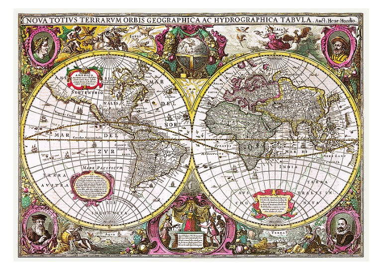 trefl-a-new-land-and-water-map-of-the-entire-earth-1630-2000-teile-puzzle-trefl-27095
