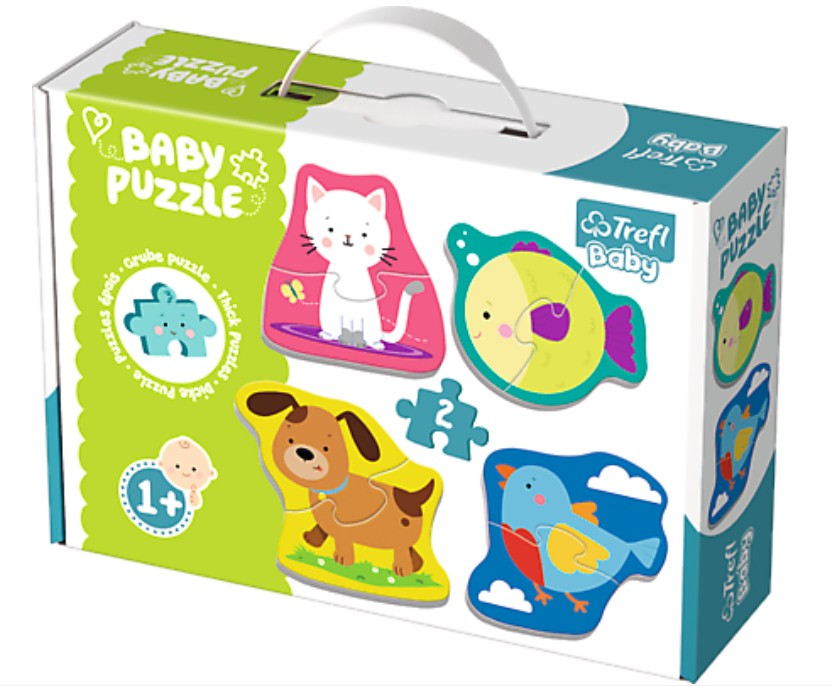 4 Baby Puzzles