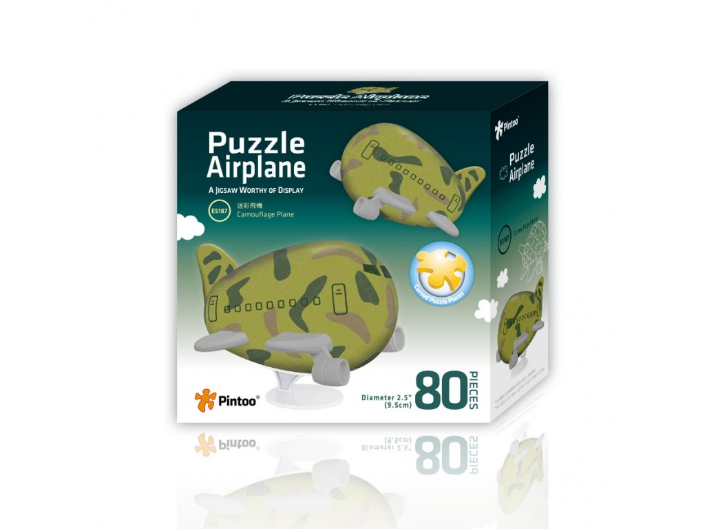 pintoo-3d-airplane-puzzle-tarnung-80-teile-puzzle-pintoo-e5187