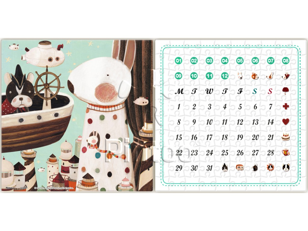 pintoo-puzzle-kalender-lighthouse-200-teile-puzzle-pintoo-h1701