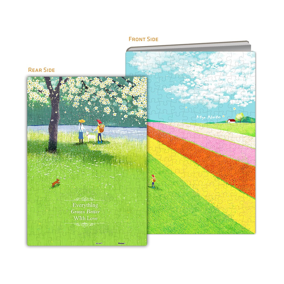 pintoo-puzzle-cover-idyllic-life-329-teile-puzzle-pintoo-y1028