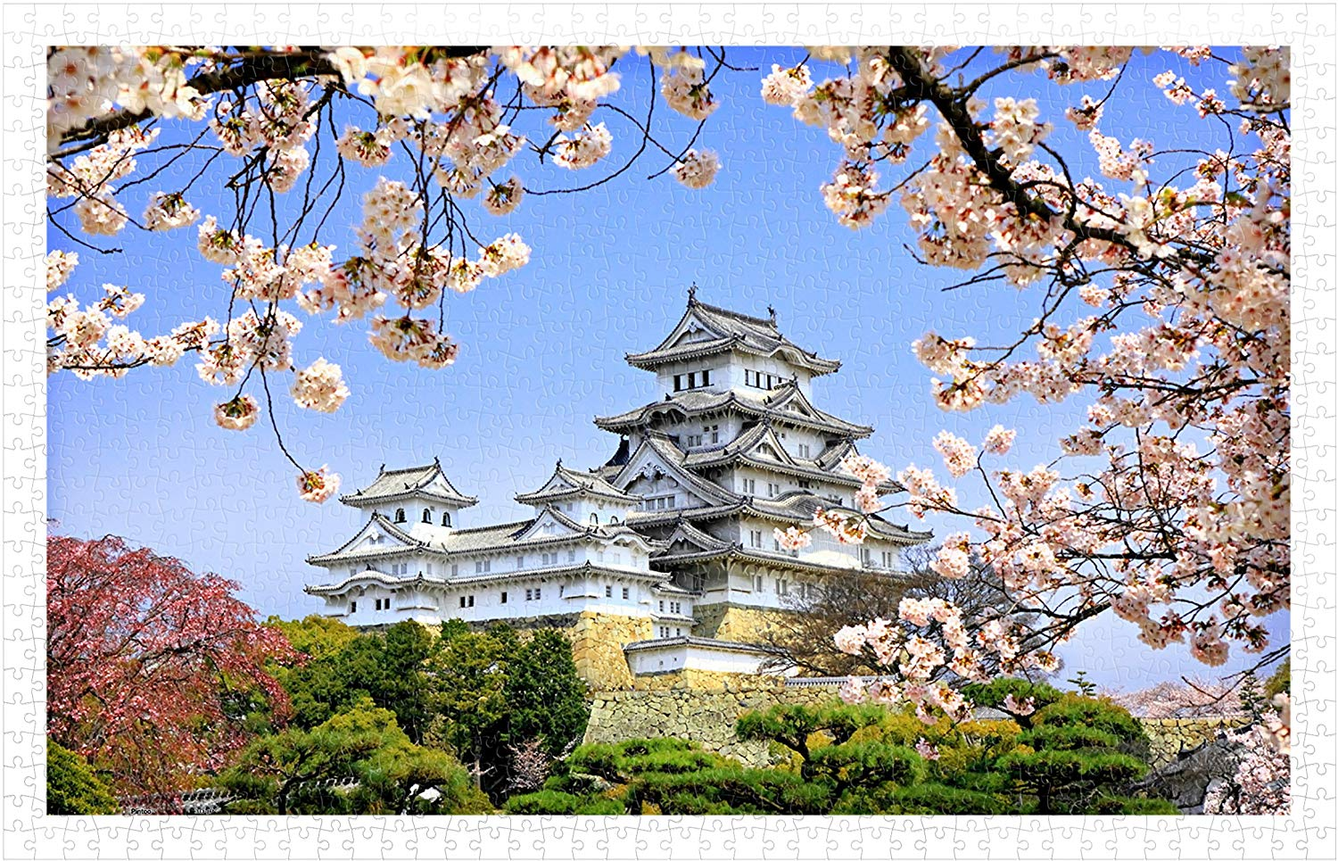 pintoo-puzzle-aus-kunststoff-himeji-jo-castle-in-spring-cherry-blossoms-1000-teile-puzzle-pintoo-h