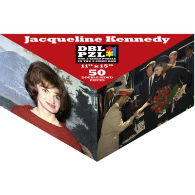 Pigment & Hue, INC Beidseitiges Puzzle - Jacqueline Kennedy 50 Teile Puzzle Pigment-and-Hue-DBLJBK-00903