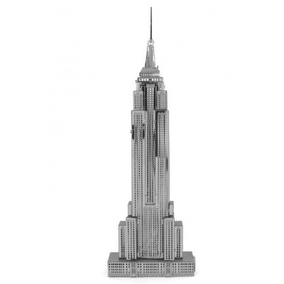 Iconx-ICX-010 3D Puzzle aus Metall - Empire State Building
