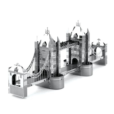 Metal-Earth-MMS022 3D Puzzle aus Metall - Tower Bridge