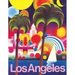 Puzzle  New-York-Puzzle-AA1973 Los Angeles - American Airlines Poster Mini