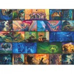 Puzzle  New-York-Puzzle-HP1895 Harry Potter Collage