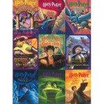 Puzzle  New-York-Puzzle-HP1917 XXL Teile - Harry Potter - Book Cover Collage