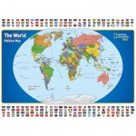 Puzzle  New-York-Puzzle-NG1702 XXL Teile - National Geographic - The World Kids Map