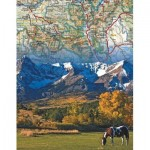 Puzzle  New-York-Puzzle-NG1964 Rocky Mountains Mini