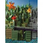 Puzzle  New-York-Puzzle-SW2014 XXL Teile - Transit Posters - Smarter Greener Better