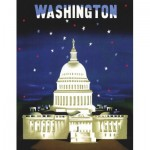 Puzzle   The Capitol - American Airlines Poster Mini