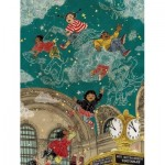Puzzle   XXL Teile - Transit Posters - Starbright