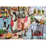 Puzzle   Cats In The Kitchen