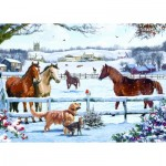 Puzzle   Christmas On The Farm