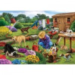 Puzzle   Garden Dogs