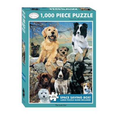 Puzzle Otter-House-Puzzle-72629 Mixed Dogs - The Look Out