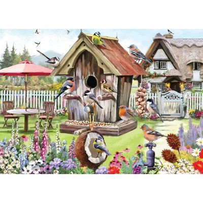 Puzzle Otter-House-Puzzle-74219 Feathered Friends