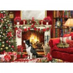Puzzle  Otter-House-Puzzle-74741 Festive Fireside