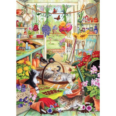 Puzzle Otter-House-Puzzle-74749 Allotment Kittens