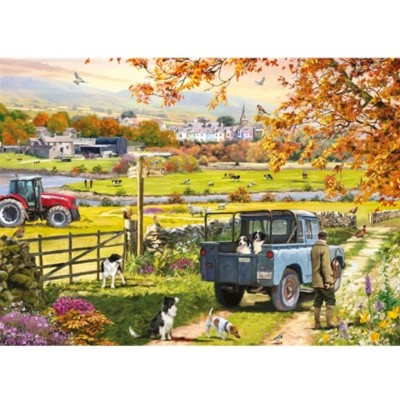 Puzzle Otter-House-Puzzle-75088 Countryside Morning