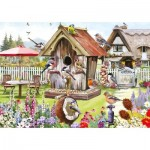 Puzzle  Otter-House-Puzzle-75374 XXL Teile - Feathered Friends
