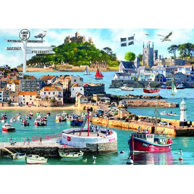 Puzzle Otter-House-Puzzle-75827 Cornwall Montage