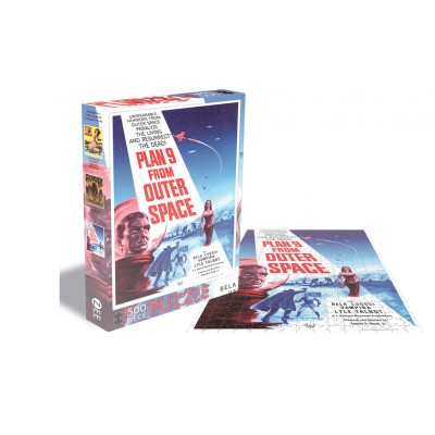 Puzzle Zee-Puzzle-18530 Plan 9 From Outer Space